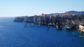 Kalksteinkliff von Bonifacio - Korsika