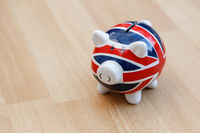 A Union Jack Piggy Bank for Saving Money