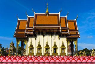 Suwannaram Tempel, Kloster Wat Plai Laem, Koh Samui, Thailand