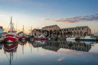 Fischereihafen in Heiligenhafen