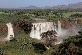 The Blue Nile Falls near Bahir Dar