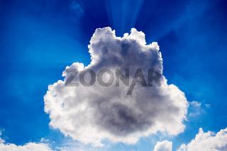 Strahlendes Himmelsblau