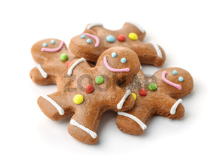 Pile of gingerbread men