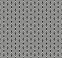 Seamless eye background in geometric style. Tiled.