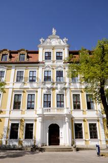 Barockfassade des Landtagsgebäudes von Sachsen Anhalt, Magdeburg