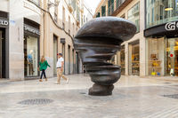 Points of View Sculpture in Malaga, Spain