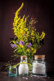 Wild flowers in a bouquet