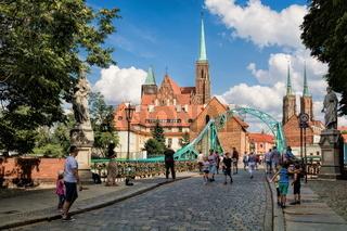 Wroclaw, Dombrücke