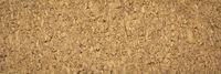 brown textured corkboard closeup