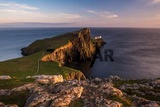 Neist Point Lighthouse on Skye