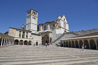 Basilica San Francesco, Assisi, Italy, Europe