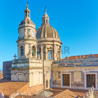 Domes of Cathedral of Catania