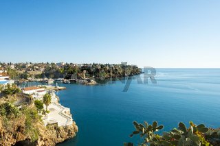 Rugged Coastline Harbor Meditteranean Antalya H