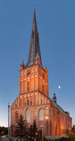 The historic Cathedral of St Jacob in Szczecin