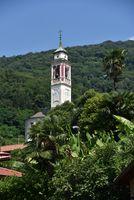 Cannero riviera church tower