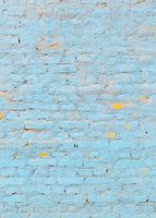 Blue brick wall Texture