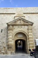 historic old town of Mdina - Greec's Gate in the double city wall