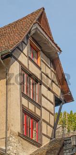Fachwerkgebäude Schaffhausen, Schweiz