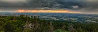 Sundown Fichtelgebirge Bavaria