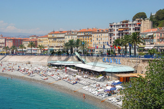 Beach Castel - Nice