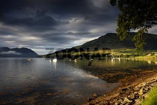 Loch Goil in den Schottischen Highlands