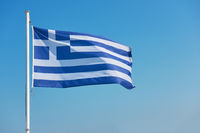 Flag of Greece - Waving greek flag