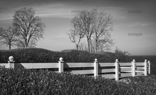 The white fence