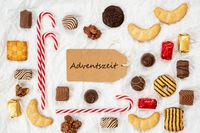 Candy Christmas Collection, Label, Adventszeit Means Advent Season
