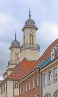 City hall towers Tuttlingen