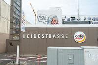Berlin, Deutschland, Tankstelle an der Heidestrasse in der Europacity in Moabit