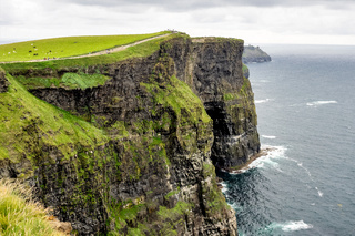 World famous Cliffs of Moher in County Clare, Ireland