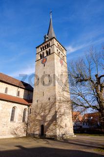 famous church Martinskirche in Sindelfingen germany