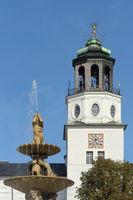 Salzburg - Carillon tower, New Residence, Austria