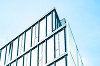 modern office building facade for business background -