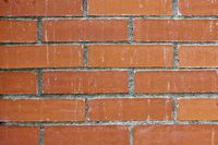 Red brick wall texture and surface