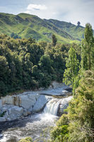 small waterfall in northern New Zealand