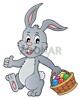 Easter rabbit thematics 5