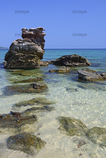 Beautiful Beach Landscape in South Thailand