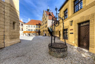 Castle Trausnitz, Landshut, Lower Bavaria, Bavaria, Germany, Europe