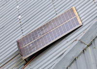 Small solar panel in Madagascar