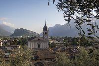 Kirche von Arco in Trentino Italien