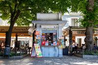Street Kiosk in Granada, Spain