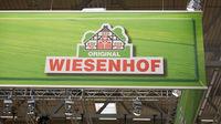 KÖLN, OKTOBER 2019: Wiesenhof Logo auf ANUGA Messe