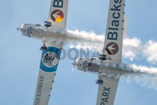 Aircraft Grob G109B of the Aerosparx team