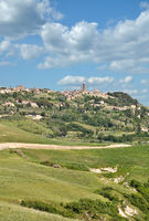 Village of Volterra in Tuscany,Italy