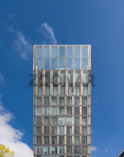 Chrome Metal Shining Building Blue Sky Achievement Beautiful