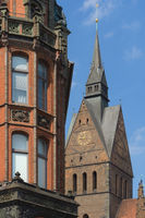 Hanover - Marktkirche in the old town, Germany