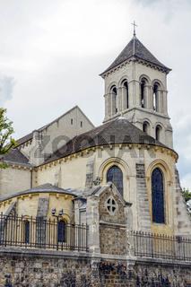 Old gotic church in Paris