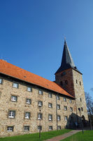 monastery wennigsen, hannover, germany