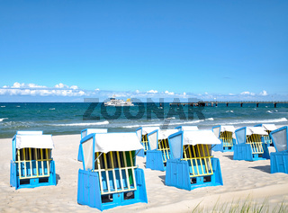 Strand in Goehren,Insel Ruegen,Ostsee,MVP,Deutschland